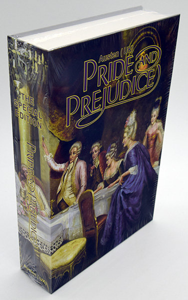 Книжка-сейф PRIDE AND PREJUDIENCE